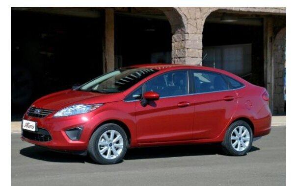 Ford New Fiesta Sedan 2013