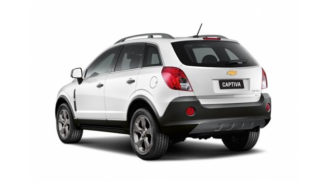 Chevrolet Captiva 2017 Icarros