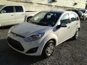 Super Oferta: Ford Fiesta Hatch Rocam 1.6 (Flex) 2013/2014 4P Branco Flex