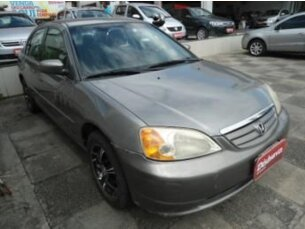 Super Oferta: Honda Civic Sedan LX 1.7 16V 2003/2003 4P Cinza Gasolina