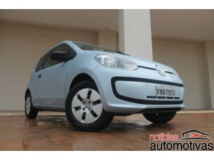 Super Oferta: Volkswagen Up! 1.0 12v Take-Up 2p 2014/2015 2P Branco Flex