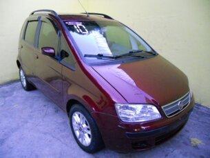 Super Oferta: Fiat Idea ELX 1.4 (Flex) 2009/2010 4P Vinho Flex