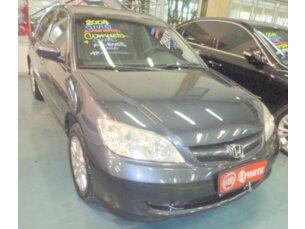 Super Oferta: Honda Civic Sedan LX 1.7 16V (aut) 2004/2004 4P Cinza Gasolina
