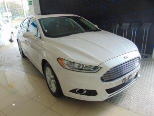 Super Oferta: Ford Fusion 2.5 16V iVCT (Flex) (Aut) 2014/2014 4P Branco Flex