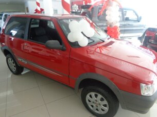 Super Oferta: Fiat Uno Mille Fire Economy Way 1.0 (Flex) 2p 2011/2012 2P Vermelho Flex