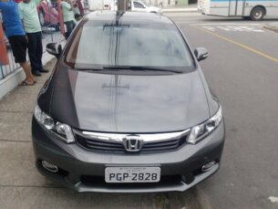 Super Oferta: Honda New Civic EXR 2.0 i-VTEC (Flex) (Aut) 2013/2014 P Cinza Flex