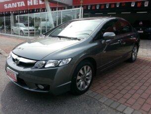 Super Oferta: Honda New Civic LXL 1.8 i-VTEC (Couro) (aut) (Flex) Cinza