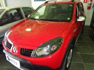Super Oferta: Renault Sandero Stepway 1.6 16V (flex) 2011/2011 5P Vermelho Flex