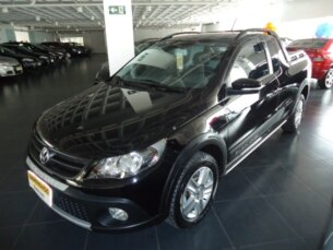 Super Oferta: Volkswagen Saveiro Cross 1.6 (Flex) (cab. estendida) 2012/2013 2P Preto Flex
