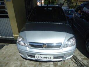 Super Oferta: Chevrolet Corsa Sedan Premium 1.4 (Flex) 2009/2009 4P Prata Flex