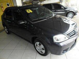 Super Oferta: Renault Logan Expression 1.0 16V (flex) 2007/2008 4P Azul MultiFlex (Alc, Gas, GNV)