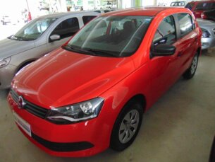 Super Oferta: Volkswagen Gol 1.0 TEC Trendline (Flex) 4p 2014/2015 4P Vermelho Flex