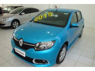 Super Oferta: Renault Sandero Dynamique 1.6 8V 2014/2015 4P Azul Flex