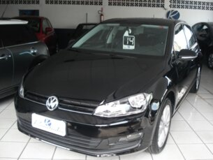 Super Oferta: Volkswagen Golf 1.4 TSi BlueMotion Tech. DSG Highline 2014/2014 4P Branco Flex