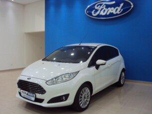 Super Oferta: Ford New Fiesta 1.6 Titanium PowerShift 2014/2014 4P Branco Flex