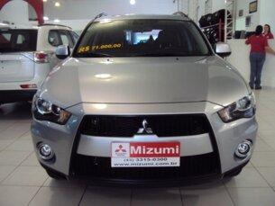 Super Oferta: Mitsubishi Outlander 2.0 16V (aut) 2011/2012 4P Prata Gasolina