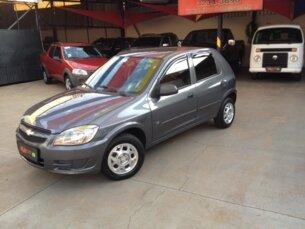 Super Oferta: Chevrolet Celta LT 1.0 (Flex) 2011/2012 4P Cinza Flex