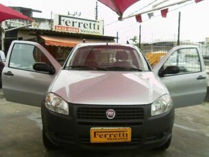 Super Oferta: Fiat Strada Working 1.4 (Flex) 2013/2013 2P Cinza Flex