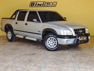 Super Oferta: Chevrolet S10 4x2 2.4 MPFi (Cab Dupla) 2004/2004 4P Prata Gasolina