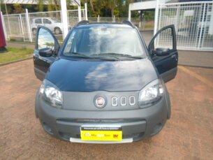 Super Oferta: Fiat Uno Way 1.0 8V (Flex) 4p 2012/2012 4P Azul Flex