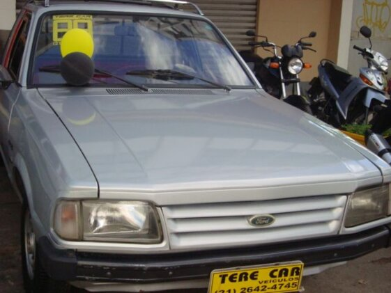 FORD PAMPA JEEP GL 4X4  CAB SIMPLES