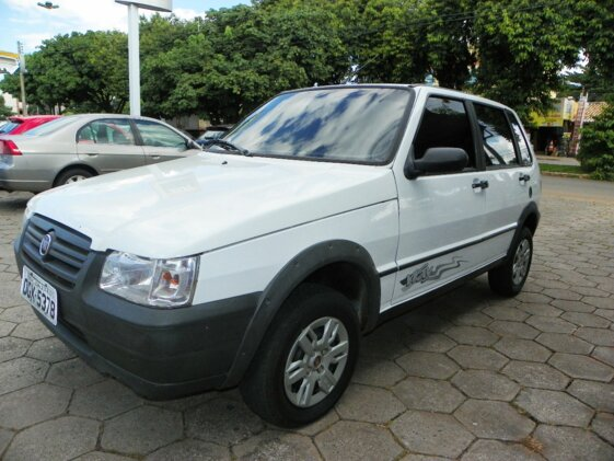 FIAT UNO MILLE FIRE ECONOMY WAY 1.0  FLEX  4P