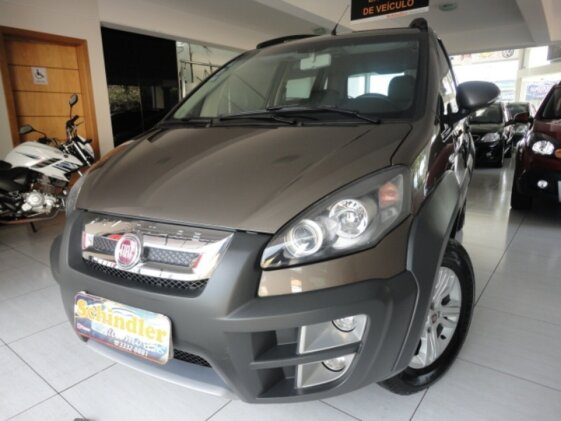 FIAT IDEA ADVENTURE 1.8 16V E.TORQ DUALOGIC