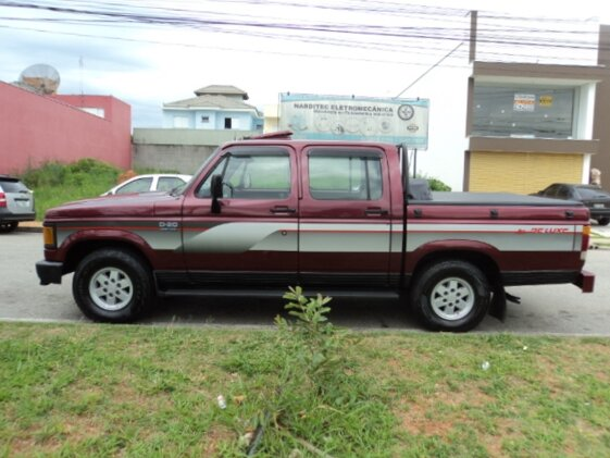 CHEVROLET D20 PICK UP CUSTOM LUXE TURBO 4.0  CAB DUPLA