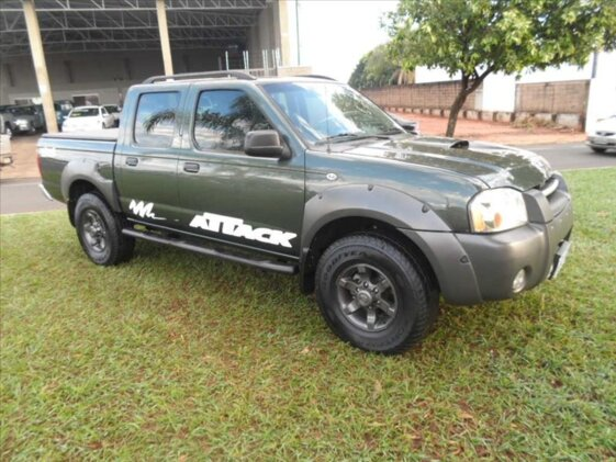 NISSAN FRONTIER XE ATTACK 4X4 2.8 ELETRONIC  CAB.DUPLA