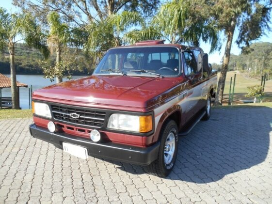 CHEVROLET D20 PICK UP CUSTOM LUXE 4.0  CAB DUPLA