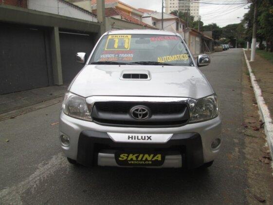 TOYOTA HILUX SRV 4X4 3.0  CAB DUPLA   AUT