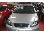 Toyota Corolla Sedan XLi 1.8 16V (flex) 2007/2008 4P Prata Flex