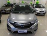 Honda Fit 1.5 16v DX CVT (Flex) 2015/2015 4P Cinza Gasolina