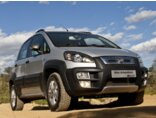Fiat Idea Adventure 1.8 16V E.TorQ Branco
