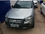 Fiat Palio Weekend Adventure Locker Dualogic 1.8 8V (Flex) 2009/2010 P Prata Flex