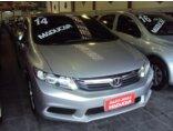 Honda New Civic LXS 1.8 16V i-VTEC (aut) (flex) 2013/2014 4P Prata Flex