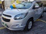 Chevrolet Spin LTZ 7S 1.8 (Aut) (Flex) 2015/2016 4P Prata Flex