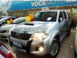 Toyota Hilux 3.0 TDI 4x4 CD SRV (Aut) 2014/2015 4P Prata Diesel
