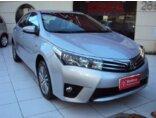Toyota Corolla Sedan 2.0 Dual VVT-I Flex Altis Multi-Drive S 2014/2015 4P Prata Flex