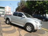 Toyota Hilux STD 4x4 2.5 (cab. dupla) 2011/2012 4P Prata Diesel