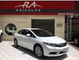 Honda New Civic LXS 1.8 16V i-VTEC (Aut) (Flex) 2013/2013 4P Branco Flex