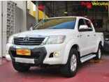 Toyota Hilux 2.7 Flex 4x2 CD SR (Aut) 2014/2014 4P Branco Flex