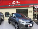 Nissan March 1.6 16V SV (Flex) 2013/2014 4P Cinza Flex
