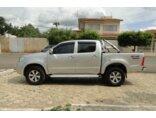 Toyota Hilux STD 4x4 2.5 (cab. dupla) 2010/2011 4P Prata Diesel