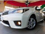 Toyota Corolla 1.8 GLi Upper Multi-Drive 2015/2016 4P Branco Flex