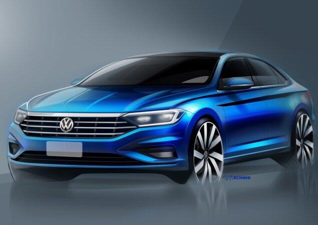 VW Jetta: nova geração estreia lá fora em janeiro, mas está confirmada para 2018 no Brasil