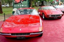 Evento reúne carros antigos em Minas Gerais