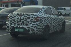 Novo Chevrolet Prisma é flagrado em São Paulo