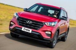 Hyundai Creta ultrapassa o Honda HR-V em novembro
