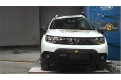 Novo Renault Duster recebe três estrelas no Euro NCAP